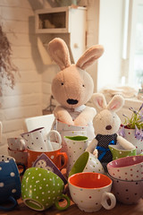 rabbit(0.0), pet(0.0), easter(0.0), rabits and hares(0.0), textile(1.0), room(1.0), plush(1.0), stuffed toy(1.0), toy(1.0),