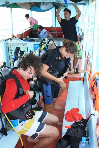 second day of diving with EcoSea Dive Center