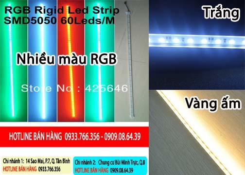 Bán đèn led thanh nhôm 5050 giá rẻ nhất 2013