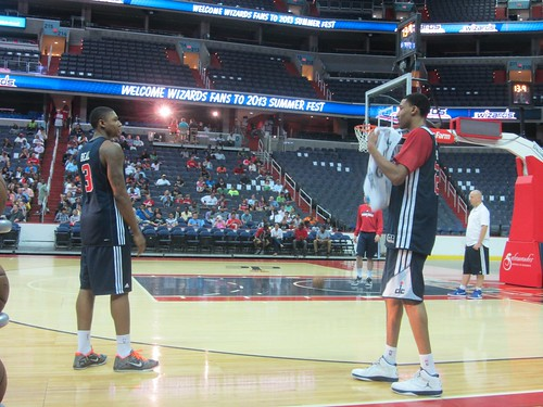 washington wizards, summerfest, adam mcginnis, truth about it, fans, nba, tai, verizon center, monumental sports, wizards, basketball, otto porter, bradley beal,
