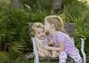 kisses in the backyard