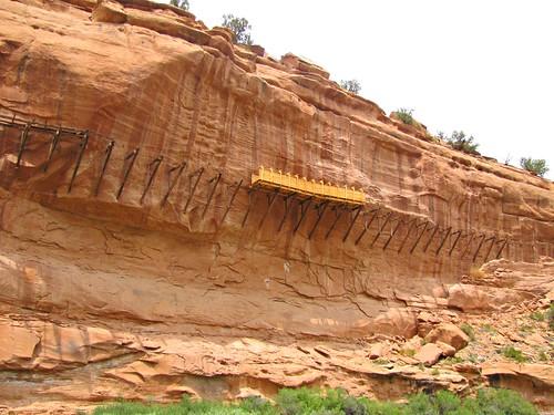rural colorado canyon historic restoration montrosecounty hangingflume