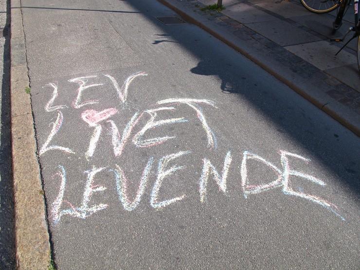 Lev livet levende / live life alive