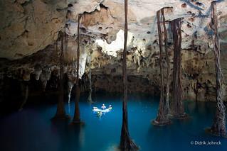 Underground Cenote Cave