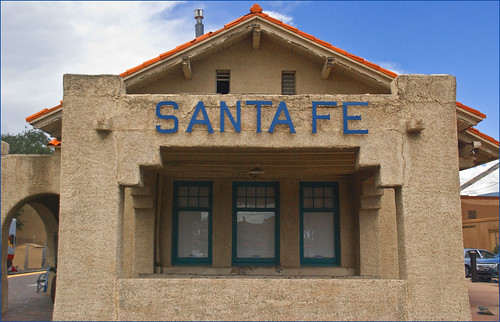 Santa Fe's Railyard District