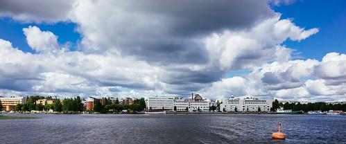 cruise lake finland gr cinematic ricohgr kuopio kallavesi