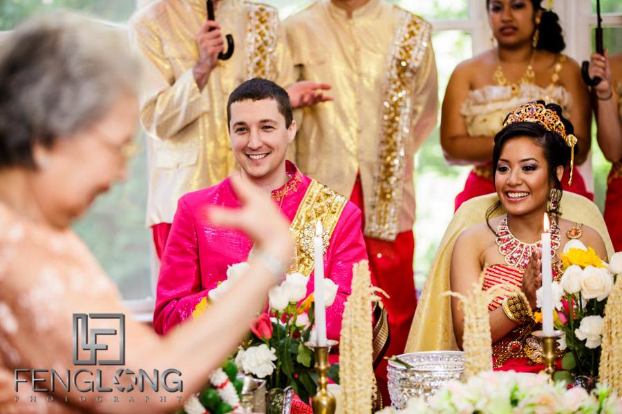 Rosanna Dougs Wedding Day 2 Cambodian Ceremony Canton House