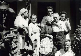 Maroc, 1960, les Menjoulet, familles de Casablanca