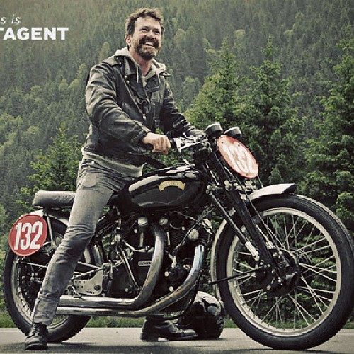 Thrilled to announce Paul d'Orleans, The Vintagent as a judge and Host of the 2013 Motorcycle Film Festival! (Photo courtesy of Bike Exif) #thevintagent #mff #motorcyclefilmfestival #bikeexif #filmfestival #vincentblackshadow read the full story on the we by MotorcycleFilmFestival