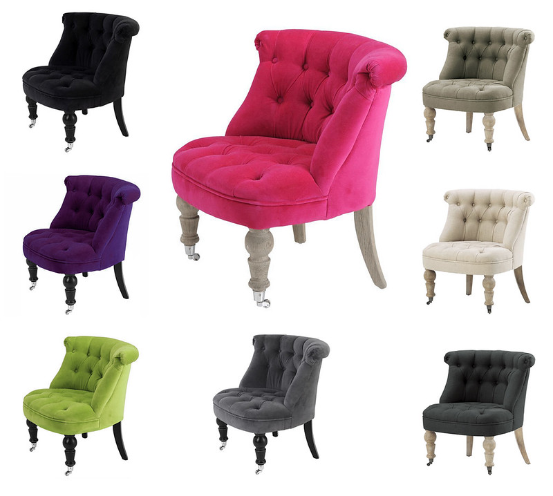 fauteuil crapaud capitonne velours ou lin grand modele neuf ebay. Black Bedroom Furniture Sets. Home Design Ideas