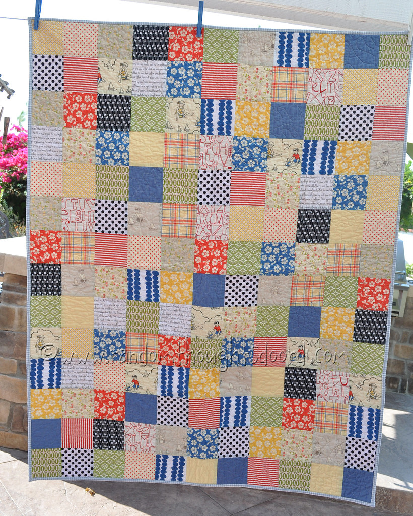Baby Quilt for Adrian