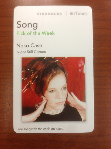 Starbucks Pick iTunes Pick of the Week - Neko Case - Night Still Comes