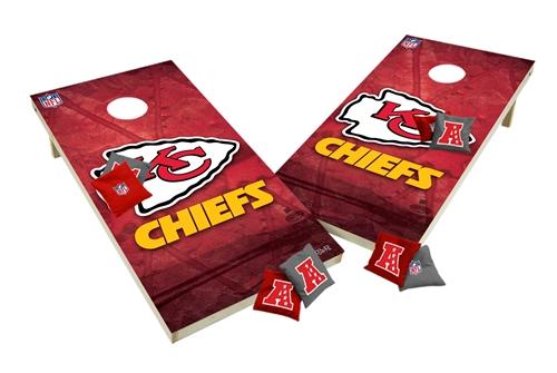 View ProductKansas City Chiefs Custom Cornhole Boards XL