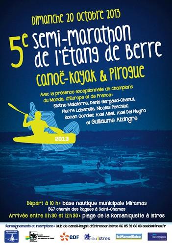 Semi-marathon Berre 2012 kayak
