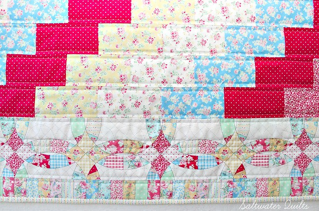 Stair Steppin' Baby Quilt