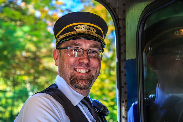 Saratoga North Creek Railroad Conductor (2)
