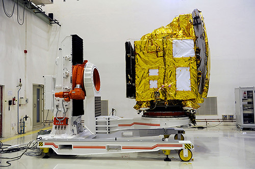 Spacecraft at Cleanroom at SDSC SHAR Sriharikota