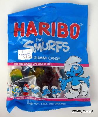 Haribo Smurfs