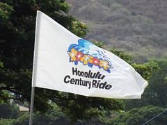 Honolulu Century Ride flag