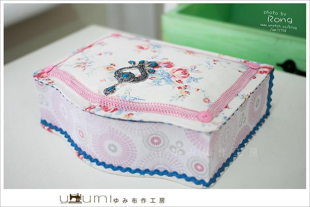 玫瑰雙層法式布盒1