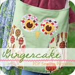 Gingercake Square Button
