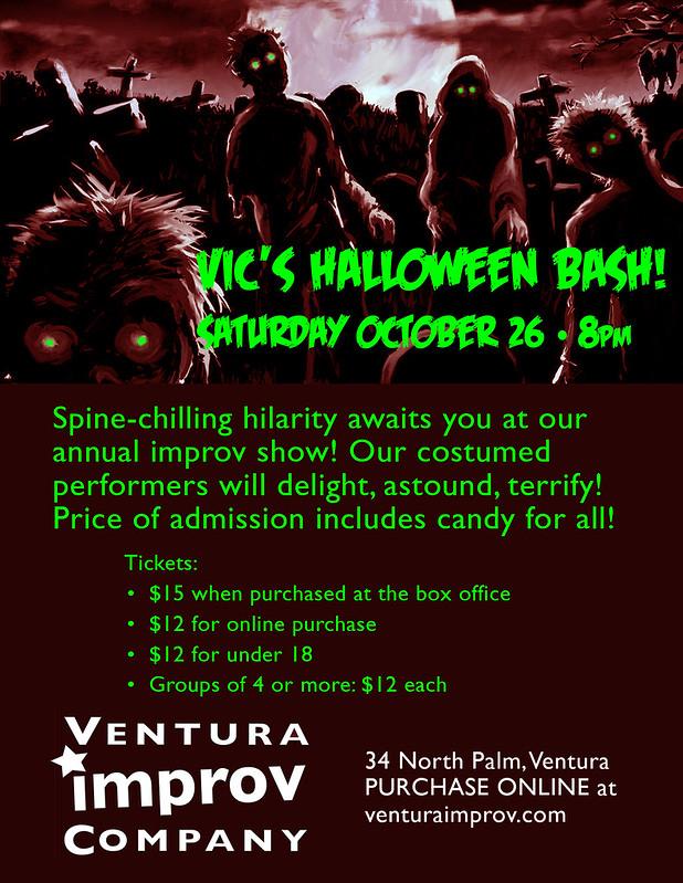 VIC's Halloween Bash!