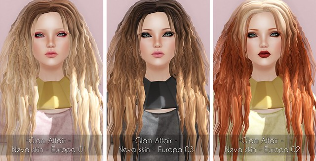 -Glam Affair - Neva skin - Europa 01-03 for Kustom9