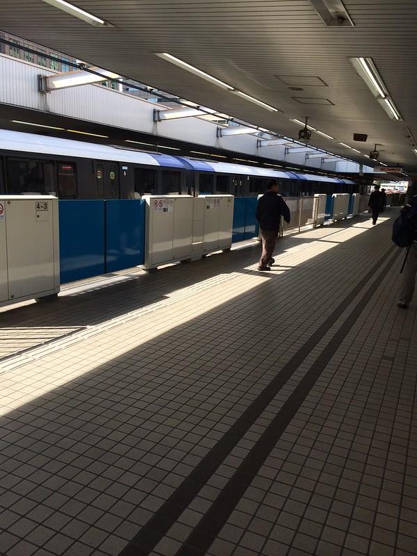 東京モノレール天王洲アイル駅 by haruhiko_iyota