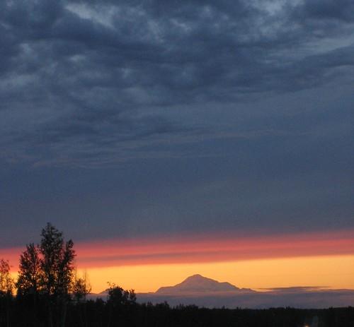 Denali View Sunset