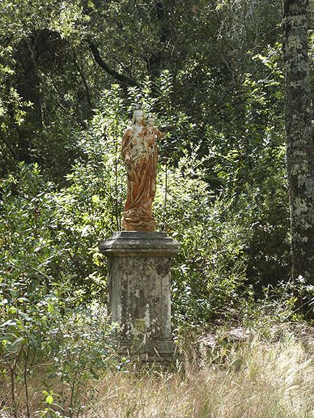 statue du château d'Astros