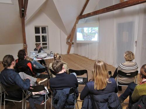 Kristina Norman artist talk