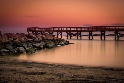 longexposure sunset pier goldenhour 10stopnd