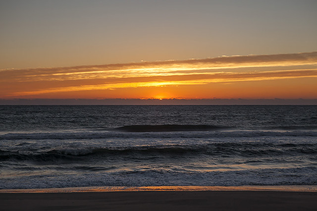 Kure Beach Sunrise, November 8, 2013