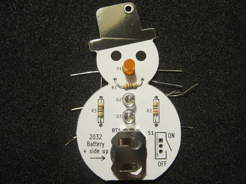 Step 6 - Install the resistors R1, R2 and R3