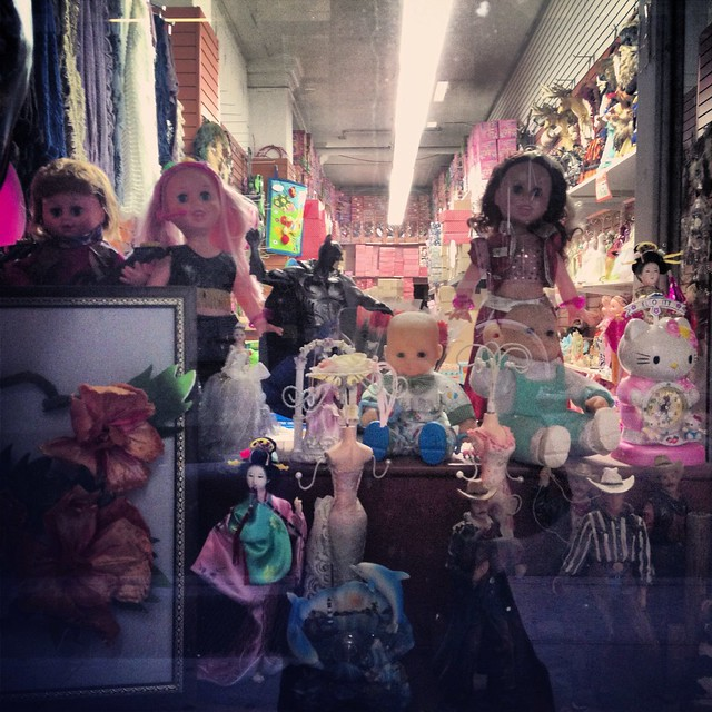 Wholesale Dolls and Knick Knacks - Garment District - New York City