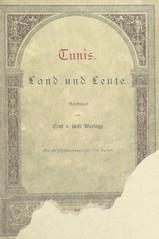 """British Library digitised image from page 5 of """"Tunis. Land und Leute geschildert ... Mit 40 Illustrationen, etc"""""""