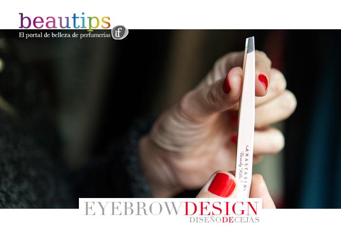 beautips barbara crespo eyebrow design diseño de cejas beauty report make up tips