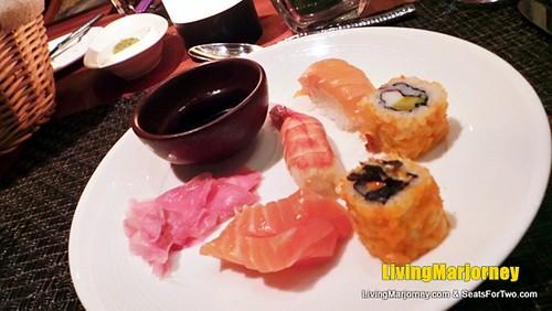 Sushi and Sashimi at SPIRAL