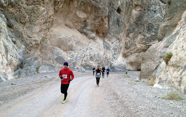 Death Valley Trail Marathon Titus Canyon