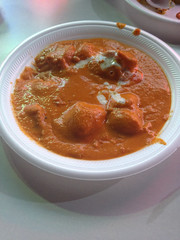 vegetable(0.0), tomato soup(0.0), meat(0.0), produce(0.0), stew(1.0), curry(1.0), food(1.0), dish(1.0), soup(1.0), cuisine(1.0),