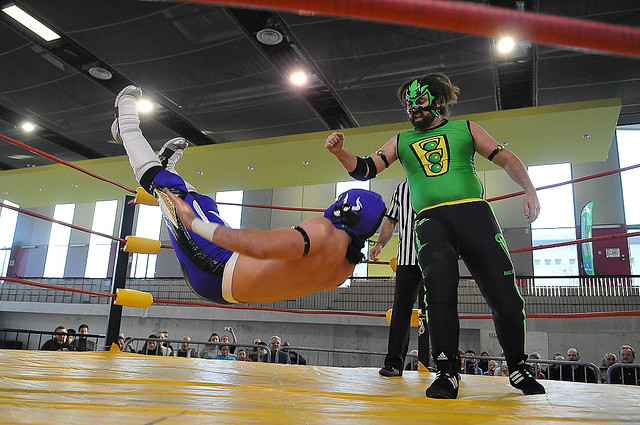 Evry Daily Photo - Telethon Courcouronnes 2013 - Solidarity Rules 2 - El Matador def Green Wizard