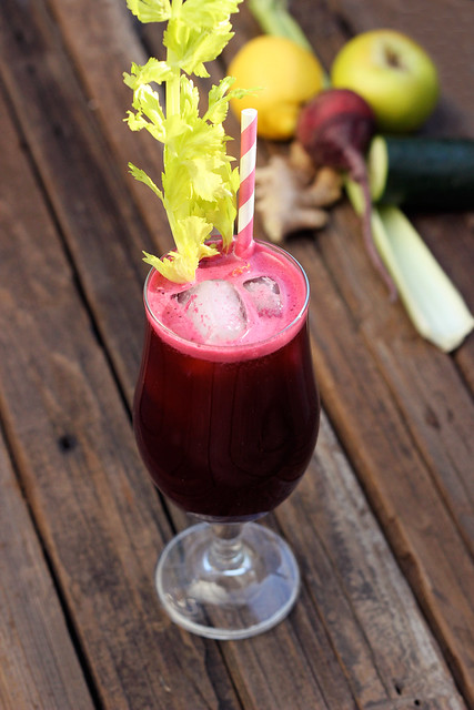 New Year's Detoxifying Juice