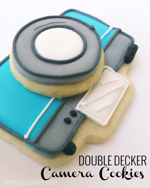 Double Decker Camera Cookies