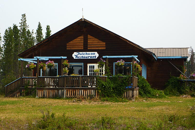 Dutchman Restaurant, Anahim Lake, Chilcotin, BC