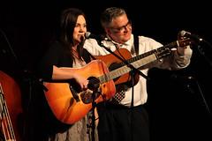 Kenny & Amanda Smith at 2013 Wintergrass Festival © Bellevue.com