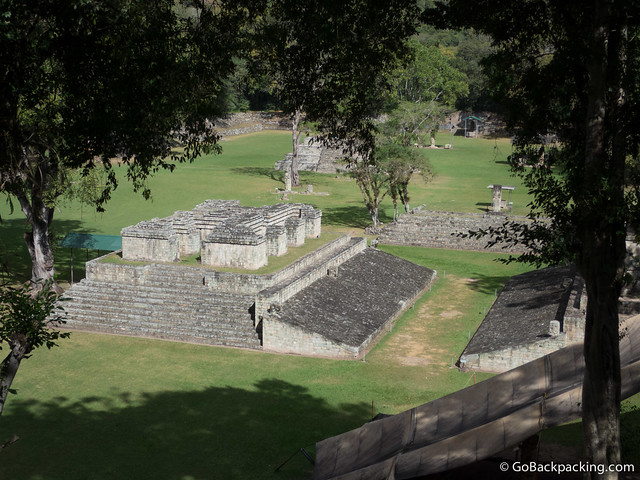 The Ball Court at Copan