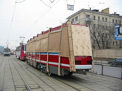Moscow tram LT-5 delivery from factory_20030411_118