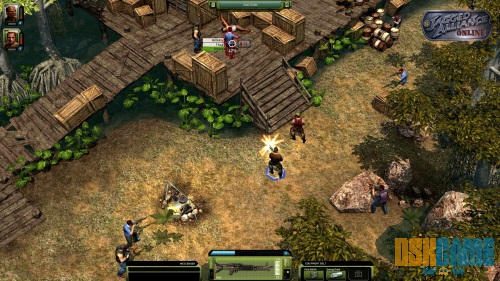 Jagged Alliance Online gameplay 2