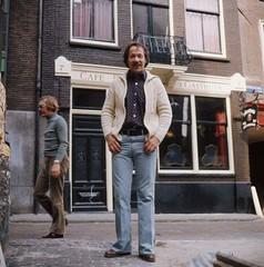 Piet Römer met snor / Piet Römer with mustache