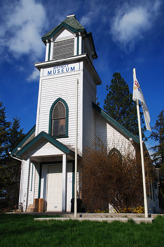 Chase Museum, Chase, South Thompson River Valley, Shuswap, British Columbia, Canada